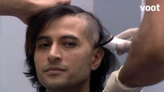 Pratyusha does a painful task