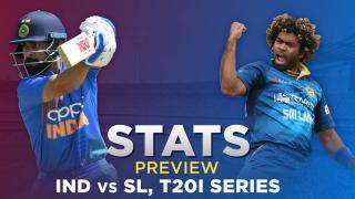 India vs Sri Lanka, T20I Series: Stats Preview