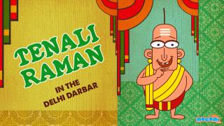 Tenali Raman Meets Babur in Delhi Durbar
