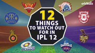 IPL returns! What's in store in Season 12?