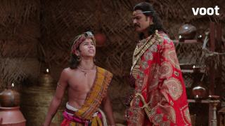 Helena and Rajajiraaj plan a conspiracy
