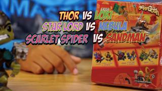 Mighty Micro Thor Vs Loki