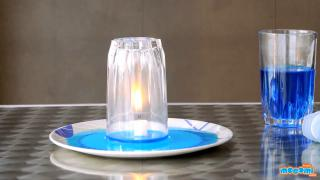 Under Water Candle Experiment