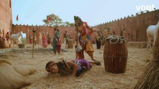 Dharma convinces King Bindusara to hear the truth