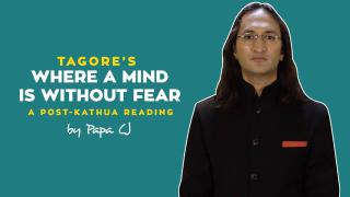 Where a Mind is Without Fear by Papa CJ