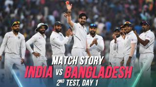 IND v BAN, 2nd Test, Day 1: Match Story