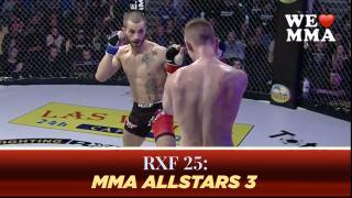 RXF 25: MMA ALLSTARS 3