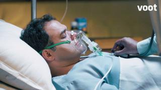 Mahendra is hospitalised