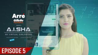Aisha sets fire