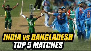 India vs Bangladesh: Top 5 Matches