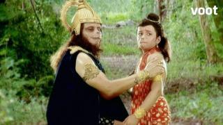 Hanuman defeats Ekaksh