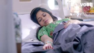 Pankti is hospitalised