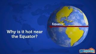 Why is it so Hot Near the Equator?