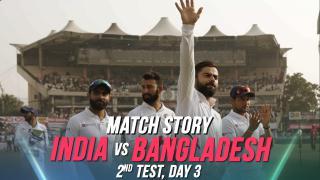 IND v BAN, 2nd Test, Day 3, Match Story: Virat Kohli's India create history