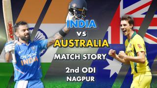 India vs Australia, 2nd ODI: Match Story