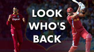 Windies' bring back Narine, Pollard for India series