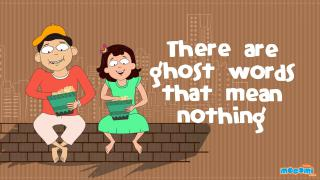 There are ghost words that mean nothing