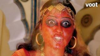 Tantrik sends a hungry demon to kill Krishna