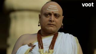 Chanakya meets Ashoka
