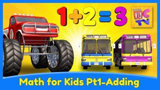 Monster Truck Math Part 1 - Adding