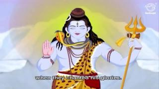Krishna Saves Lord Shiva