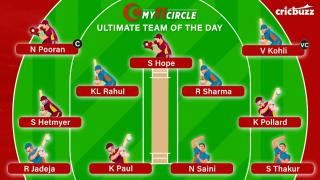 My11Circle Ultimate Team of the Day: India v West Indies, 3rd ODI