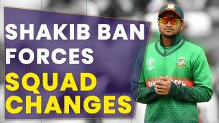 Bangladesh revamp squad for India series after Shakib ban