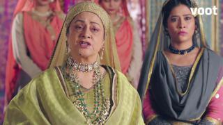 Badi Begum comes to Anarkali's aid
