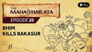 EP 26 - Mahabharata  - Bhim Kills Bakasur