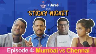 Sticky Wicket EP 4 Appraisal Ka Din - MI vs CSK ft. Ahsaas, Kumar Varun & Shantanu Anam