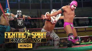 Drago, Bengala & Aerostar vs Pentagon Jr, Superfly & Hijo Del Fantasma