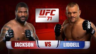 Q. Jackson vs C. Liddell