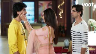 Aditya returns home