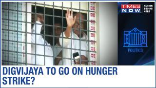 MP Govt: Digvijay Singh Announces Hunger Strike if Denied Meeting with Rebel MLAs