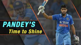 Resurgence time for Manish Pandey