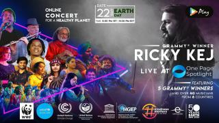 Ricky Kej LIVE at One Page Spotlight