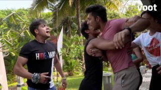 Shivam-Dhruv's big brawl!