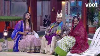 Bhajan Raja and his queens!