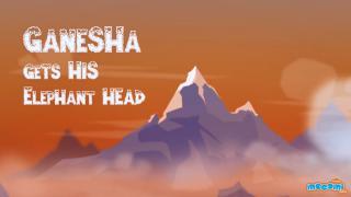 How Lord Ganesha got his Elephant Head