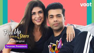 Feet Up with Karan Johar