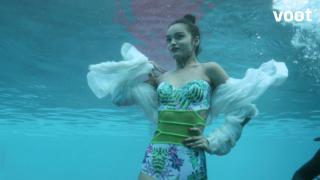 Underwater ramp walk!