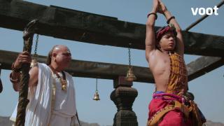 Ashoka prays for his mother