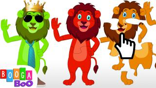 Lion Puzzle Game