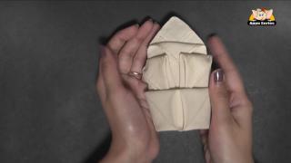 An Arum Lily Napkin Fold