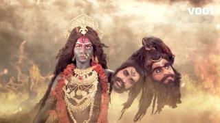 Mahakaali slays Chanda-Munda