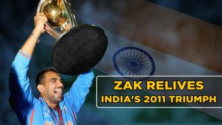 Zaheer Khan retells India's famous 2011 World Cup title win