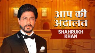 November 2, 2019, Shah Rukh Khan In Aap Ki Adalat With Rajat Sharma|