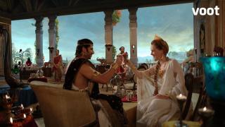 Helena celebrates Dharma's death