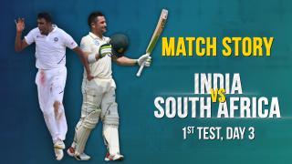 IND v SA, 1st Test, Day 3, Match Story: Elgar & de Kock's fightback | Ashwin's 5-fer