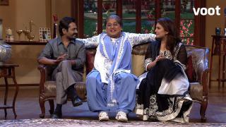 Dadi meets Huma and Nawazzudin